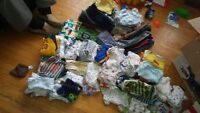 LARGE LOT OF BOY CLOTHES