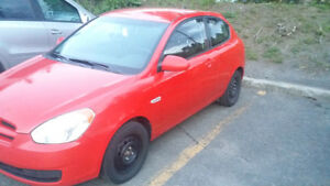 2008 Hyundai Accent Hatchback Safety and Emission test included