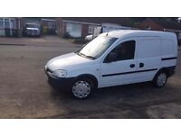 Vauxhall combo 1.7 turbo diesel 2007/57 moted