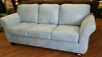 DYNASTY BLUE SOFA AND LOVE SEAT