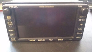 04-06 TOYOTA CAMRY NAVIGATION RADIO DISPLAY SCREEN TOUCH CD SAT