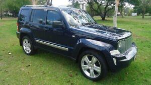 2012 Jeep Cherokee KK MY12 JET Blue 4 Speed Automatic Wagon Stuart Park Darwin City Preview