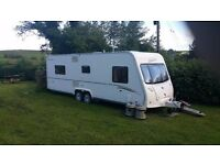 Baileys Senator 5 Louisiana 2007 Twin Axle Fixed Island Bed Caravan