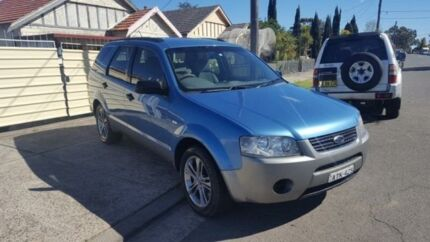 2005 Ford Territory SX TX Blue 4 Speed Automatic Wagon