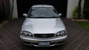 2001 Toyota Corolla Hatchback Skye Frankston Area Preview