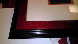 "Two picture frames (20"" x 24"") for $40"