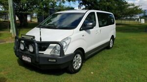 2013 Hyundai iMAX TQ MY13 White 5 Speed Automatic Wagon Bungalow Cairns City Preview
