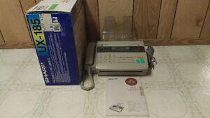 MINT WORKING CONDITION Sharp UX-185 Facsimile Fax Machine $37
