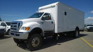 """Super Service Unit""    2011 Ford 4X4 750 with Cummins Engine"
