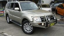 2008 Mitsubishi Pajero NS Exceed LWB (4x4) Gold 5 Speed Auto Sports Mode Wagon Homebush Strathfield Area Preview