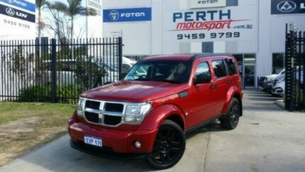2011 Dodge Nitro KA MY10 SX Red 4 Speed Automatic Wagon Beckenham Gosnells Area Preview