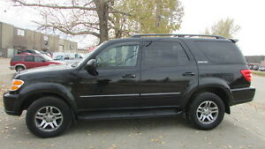 2003 Toyota Sequoia LIMITED SUV, Crossover VERY LOW KM!!!