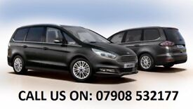 Ford Galaxy Ready PCO licensed vehicle rental starting from just £210 inc VAT + Fully insurance
