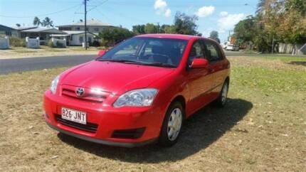 2004 Toyota Corolla Hatchback Westcourt Cairns City Preview