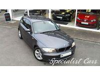 BMW 1 SERIES 2.0 118D SE 3d 141 BHP Great Value , (grey) 2008