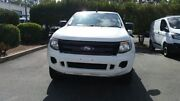 2013 Ford Ranger PX XL Double Cab 4x2 Hi-Rider Cool White 6 Speed Sports Automatic Utility Acacia Ridge Brisbane South West Preview