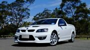 2010 Holden Special Vehicles Maloo E Series 2 GXP White 6 Speed Manual Utility Hobart CBD Hobart City Preview