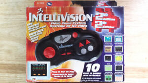 Ten game Intellivision plug and play in box