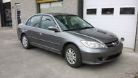 2005 Honda Civic Sedan automatique, A/C