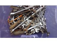 REDUCED.Spanners......... Large selection of spanners ( collection vigo village)