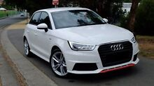 2015 Audi A1 8X MY16 S Line Sportback S tronic White 7 Speed Sports Automatic Dual Clutch Hatchback Hobart CBD Hobart City Preview