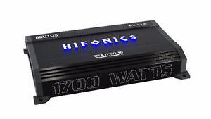 HIFONICS 1700W RMS MONOBLOCK AMP