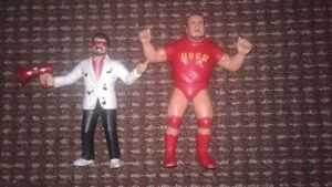 LIN Vintage 1984 and 1986 WWF Wrestlers