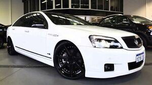 2012 Holden Caprice WM II MY12 V White 6 Speed Auto Active Sequential Sedan Beckenham Gosnells Area Preview