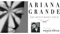 2 tickets to Ariana Grande at ACC section 101 Row 22