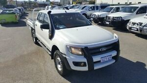 2012 Ford Ranger PX XL 3.2 (4x4) Cool White 6 Speed Automatic Dual Cab Utility Maddington Gosnells Area Preview