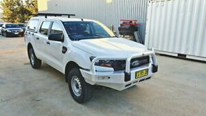 2016 Ford Ranger PX Mk II XL Double Cab 4x4 Tray Back Ute Queanbeyan Queanbeyan Area Preview