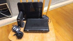 Bell Fibe modem/router and wireless HD TV box