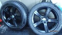 4 winter tires with bmw mags