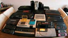 Old retro game consoles WANTED!!!