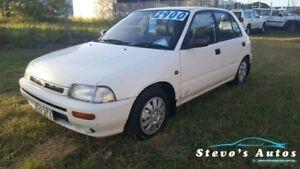 1994 Daihatsu Charade G200RS CS White 5 Speed Manual Hatchback