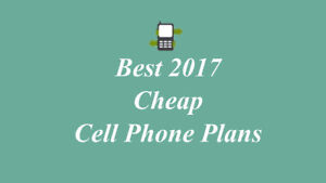 $ 14 Cell Phone Monthly Plan - No Contract