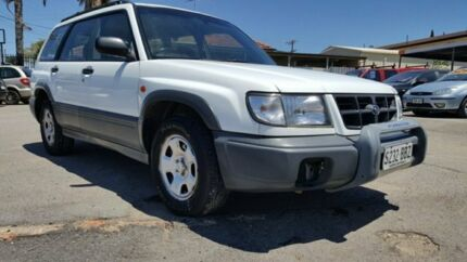 1999 Subaru Forester 79V MY99 GX AWD Wicked White 5 Speed Manual Wagon Enfield Port Adelaide Area Preview