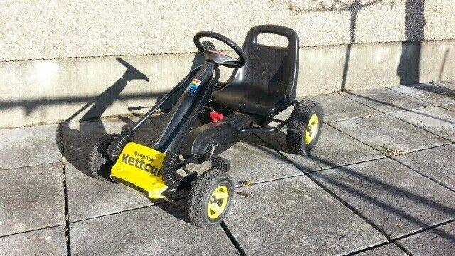 kettler kettcar original pedal go kart in ammanford. Black Bedroom Furniture Sets. Home Design Ideas