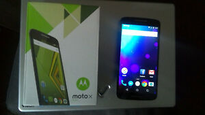 Moto X Play with Videotron