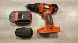 Variable Speed Cordless Drill - Black Decker