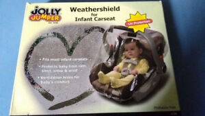 Carseat weather shield