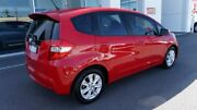 2012 Honda Jazz GE MY12 Vibe Red 5 Speed Automatic Hatchback Port Macquarie Port Macquarie City Preview