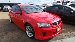 2009 Holden Commodore VE SV6 Red Sports Automatic Sedan Mount Druitt Blacktown Area Preview