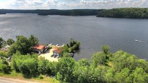 NEWLY RENOVATED WATERFRONT COMMERCIAL/RESIDENTIAL, PAUDASH LAKE