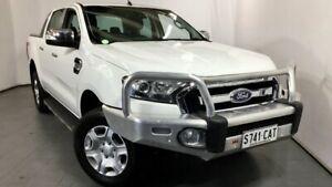 2016 Ford Ranger PX MkII XLT Double Cab White 6 Speed Manual Utility Elizabeth Playford Area Preview