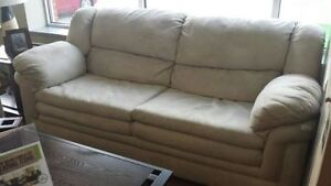 DYNASTY TAN SOFA AND LOVE SEAT