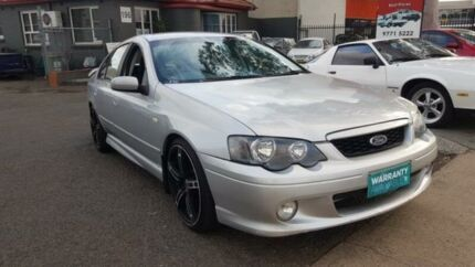 2005 Ford Falcon BA MkII XR6 Silver 4 Speed Auto Seq Sportshift Sedan Revesby Bankstown Area Preview
