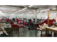 Garment Machinist Needed - Lockstitch, Hemming, Over Locking - Part time and full time opportunities