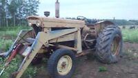 Minneapolis moline  60HP farm/Acreage tractor with loader & PTO