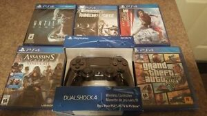 PS4 Game Bundle (5 x Games & Controller)